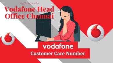 Photo of Vodafone Head Office Chennai Customer Care Numbers, Address